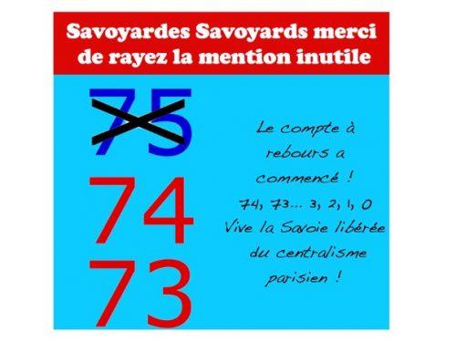 En marche pour l'émancipation de la Savoie !